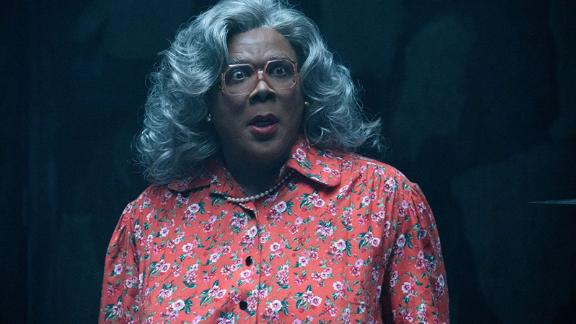 """<strong>""""Tyler Perry's Boo 2!  A Madea Halloween""""</strong>: Tyler's Perry's cantankerous Madea character and her friends scare up big laughs on a hell-arious journey to rescue her niece from a haunted campground. <strong>(Amazon Prime, Hulu) </strong>"""