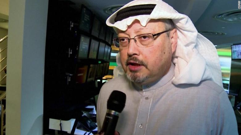 Jamal Khashoggi was killed at the Saudi Consulate General in Istanbul on October 2.