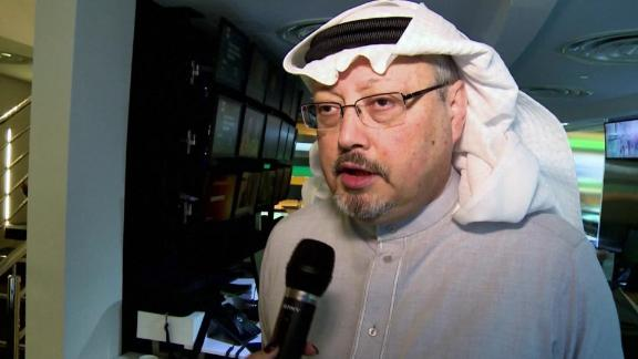 Jamal Khashoggi went missing in October after he visited the Saudi consulted in Istanbul.