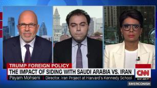 Impact of U.S. picking sides in Saudi-Iran battle