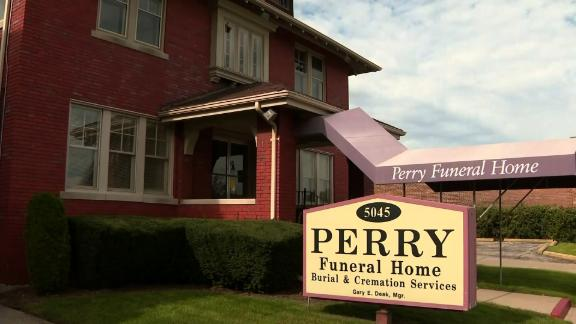 Perry Funeral Home in Detroit.