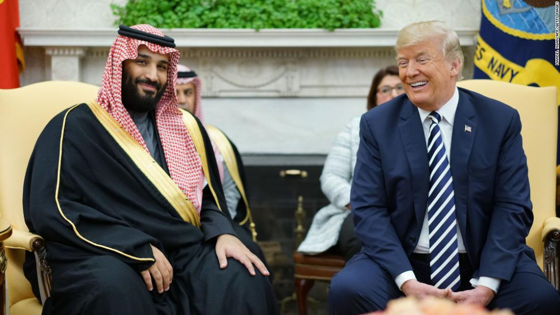 Trump signals US won't punish Saudi crown prince over Khashoggi killing