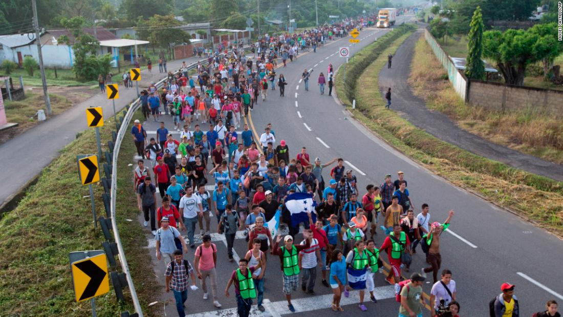 Trump's making the migrant caravan a political issue. Here are the facts.