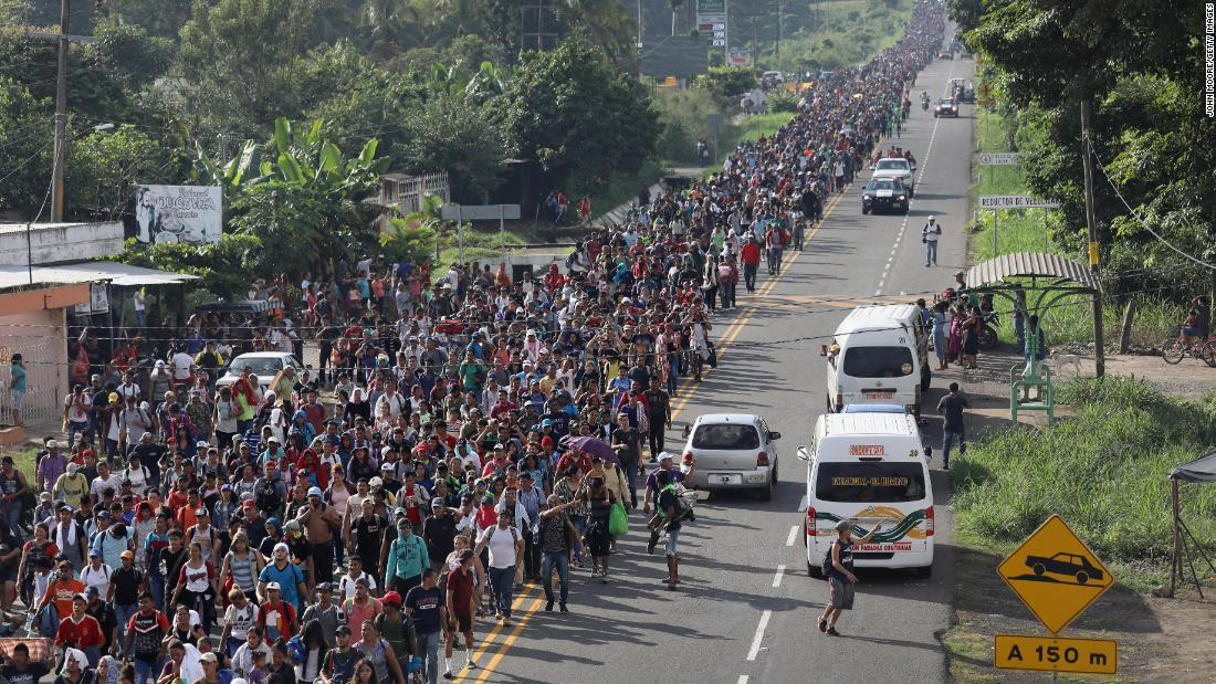 Counterterrorism official contradicts Trump: No sign ISIS or 'Sunni terrorist groups' are in caravan