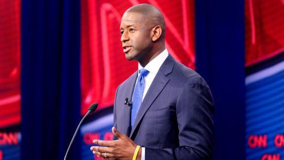 CNN Florida Governor's Debate 2018 Andrew Gillum v. Ron DeSantis Moderated by Jake Tapper Tampa, Florida