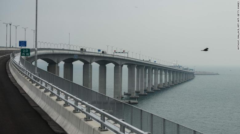 The world's longest sea bridge, connecting Hong Kong, Macau and the Chinese mainland will open to traffic on October 24, 2018 officials said, after complaints about the secrecy surrounding the project.