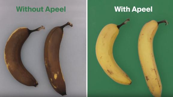 Apeel says its product can double the shelf life of fruits and vegetables.