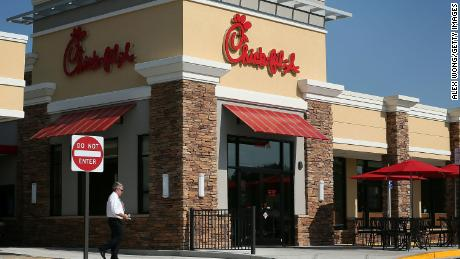 It's Chick-fil-A's fourth straight year atop the list.