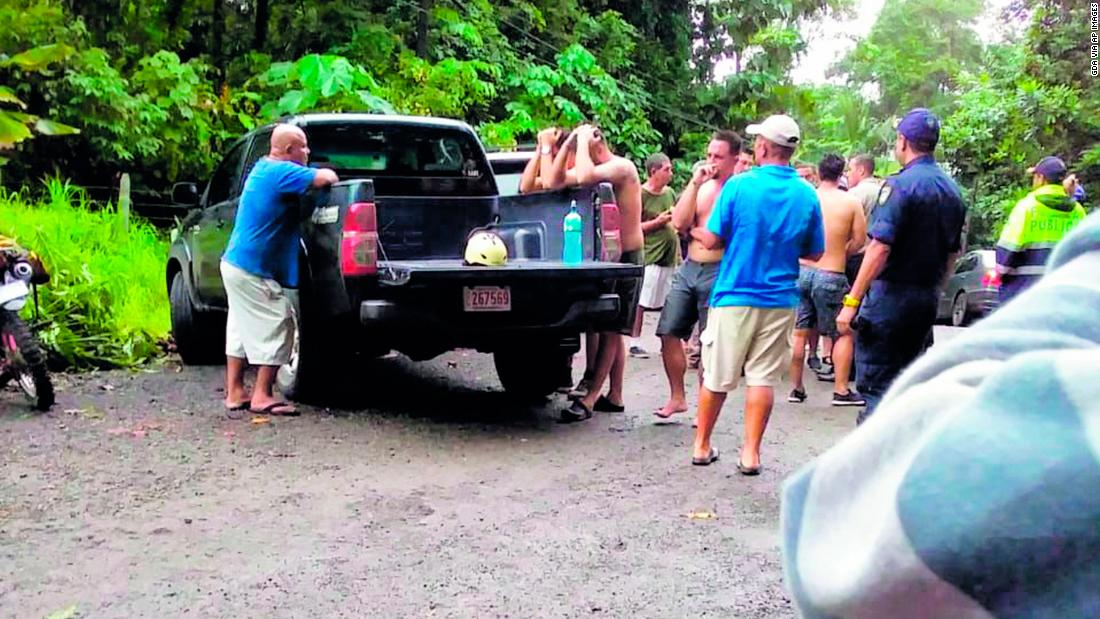Costa Rican raft accident turns bachelor party into 'living nightmare'