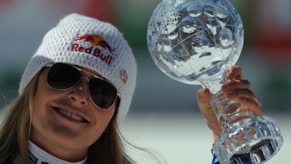 Vonn added a fourth World Cup title in 2012, but is still behind Annemarie Moser-Proell