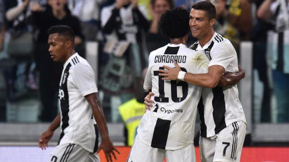On Saturday, Ronaldo became the first player to reach 400 goals in Europe's top five leagues as he got the opener in Juve's 1-1 draw at home to Genoa.