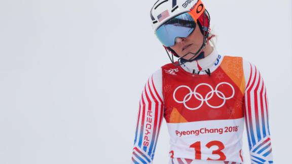 Vonn worked hard to get back in time to challenge for gold medals at the 2018 Winter Olympics. The American left PyeongChang with a bronze medal in the downhill but insisted she was proud to have made it through her injuries.