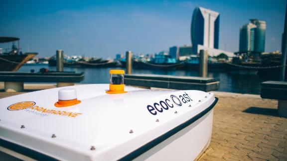 The WasteShark by RanMarine can pick up about 2.2 lbs (1 kg) of floating waste per minute.