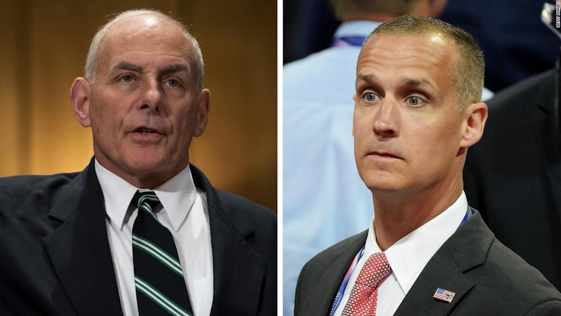 NYT: Kelly, Lewandowski squared off in the WH