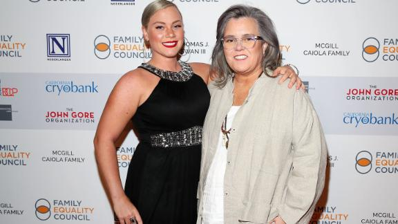 Elizabeth Rooney and Rosie O'Donnell in May