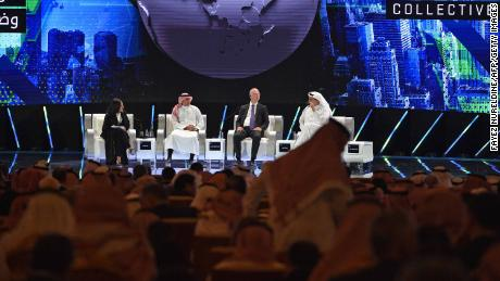 Who's at Saudi Arabia's 'Davos in the desert' and who's staying away