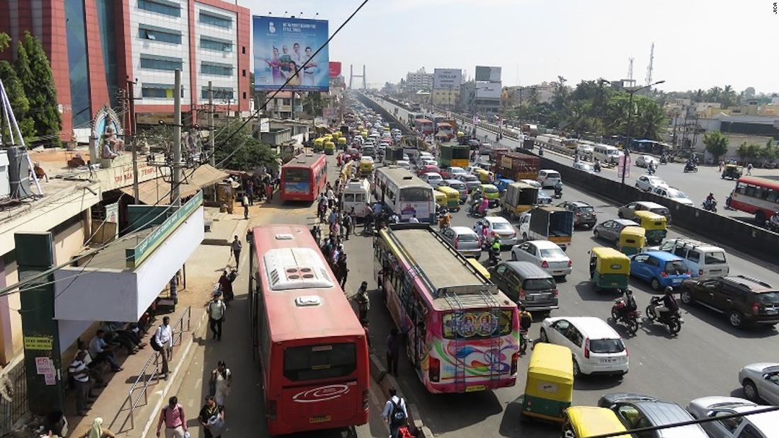 In 2015, Bangalore authorities asked the Japan International Cooperation Agency (JICA), a government development body, to help tackle its congestion problems. JICA has worked with other countries on similar  projects.