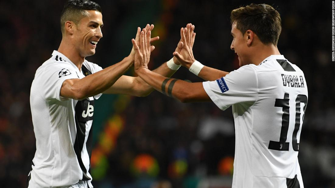 Cristiano Ronaldo's Juventus produced a masterclass to beat Manchester United 1-0 on Tuesday at Old Trafford. Returning to his former club, Ronaldo was influential in Paulo Dybala's goal in the first half.