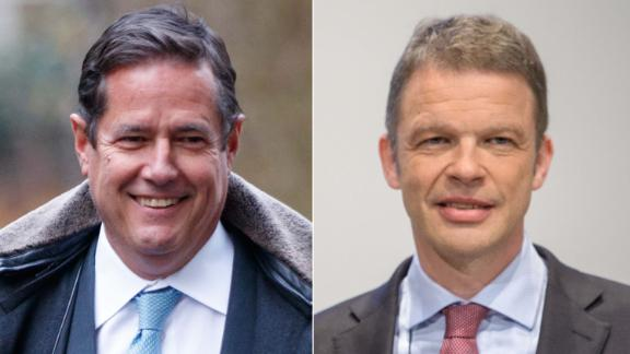 Jes Staley, CEO of Barclays, and Christian Sewing of Deutsche Bank.