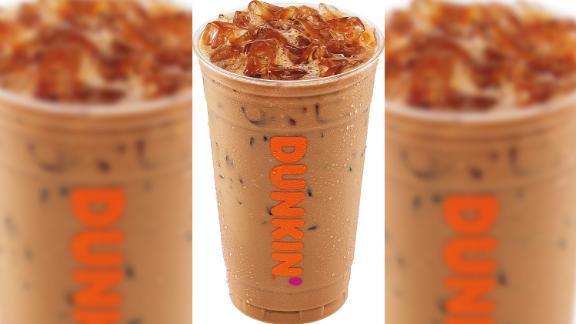 Dunkin's new iced espresso drinks.