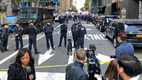 Live updates: Suspicious packages sent to Time Warner Center, Clinton and Obama