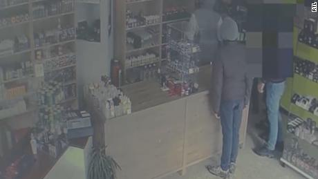 The group of would-be thieves returned to the store three times before they were arrested