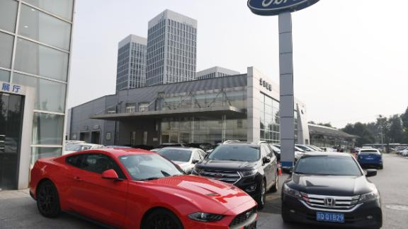 Ford has endured a torrid time in China, where its sales plunged by more than a third in 2018.