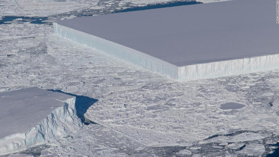 That rectangular iceberg spotted by NASA is real