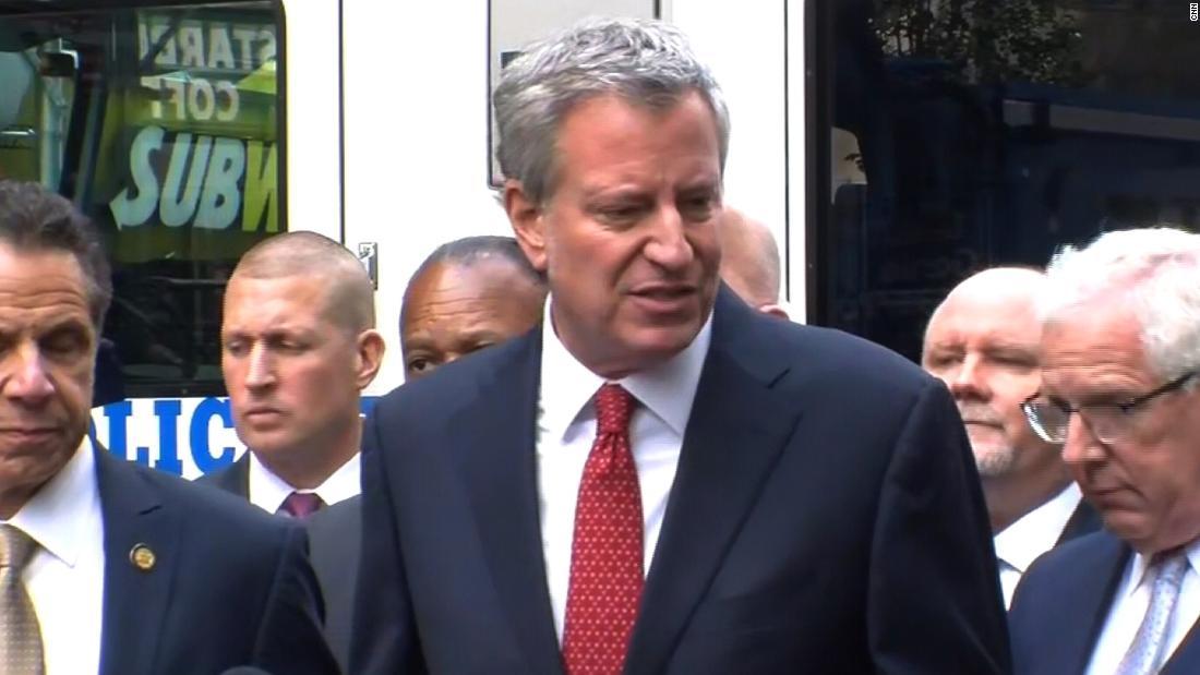 New York City Mayor Bill de Blasio to announce 2020 presidential run