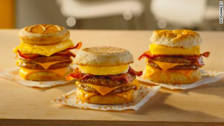 The Triple Breakfast Stacks will join the breakfast menu at McDonald's.