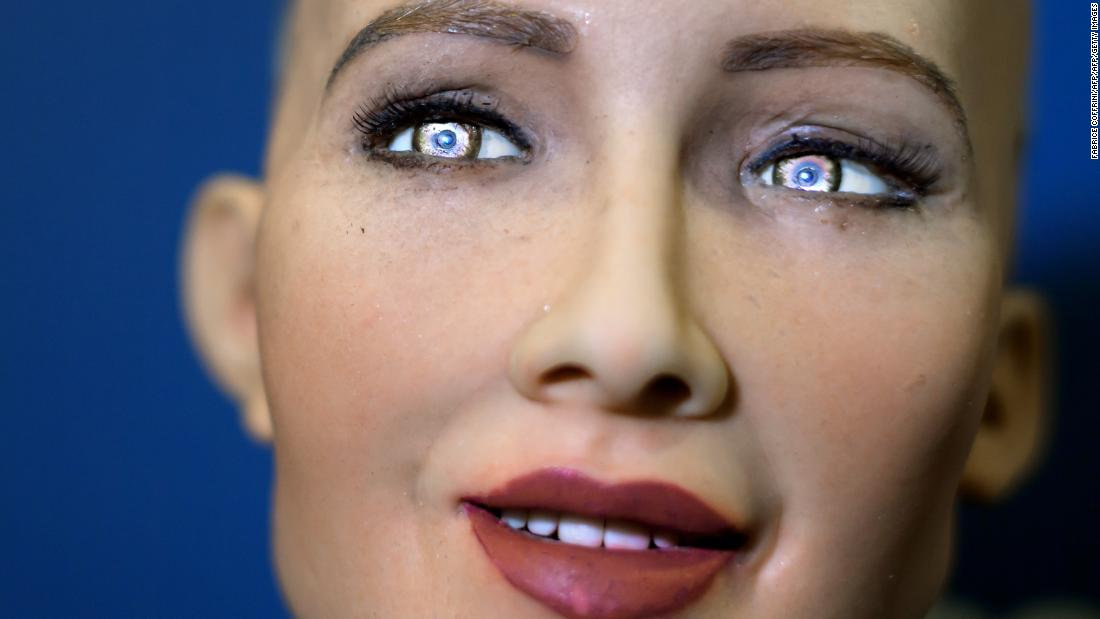 Meet the world's most life-like robot