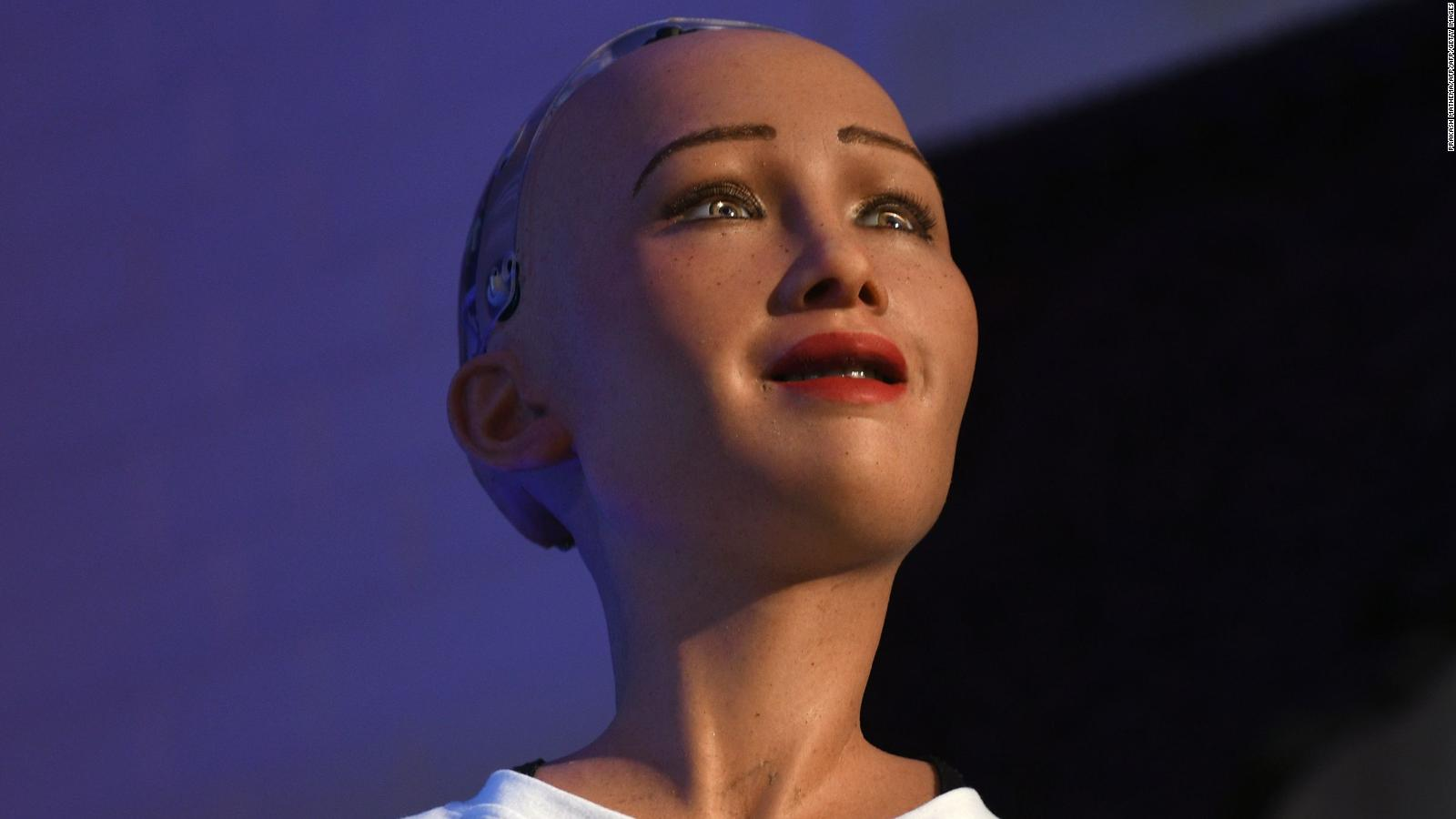 Meet Sophia: The robot who laughs, smiles and frowns just