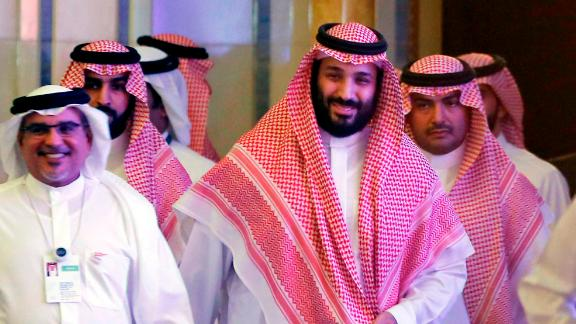 Saudi Crown Prince Mohammed bin Salman arrives Wednesday for the investors