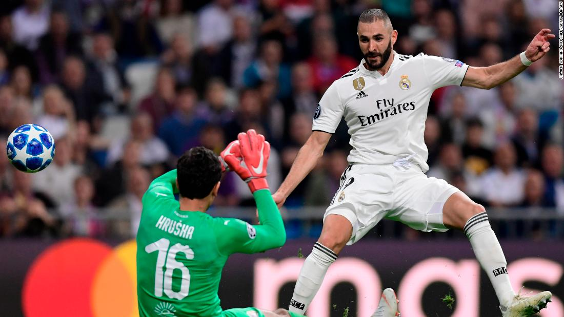Real Madrid held onto a 2-1 win against Viktoria Plzen on a nervy night at the Bernabeu. Karim Benzema and Marcelo both scored for the hosts but their visitors had multiple chances to get back in the game.