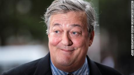 British actor and comedian Stephen Fry was at the center of a 2017 blasphemy probe in Ireland.