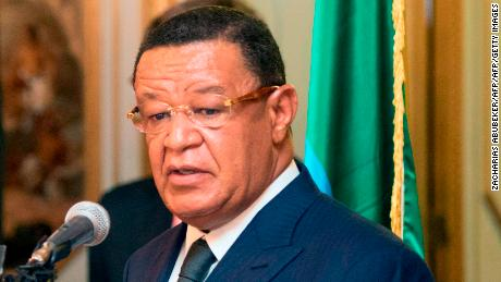 Ethiopian President Mulatu Teshome took office in 2013.