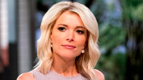 """This September 21, 2017 file photo shows Megyn Kelly on the set of her show, """"Megyn Kelly Today"""" at NBC Studios in New York."""