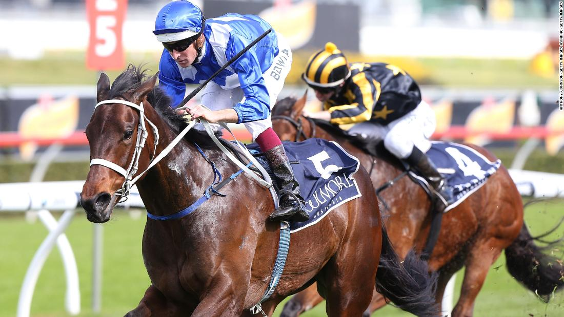 Winx made her competitive debut in 2014, winning her first two races of the season.