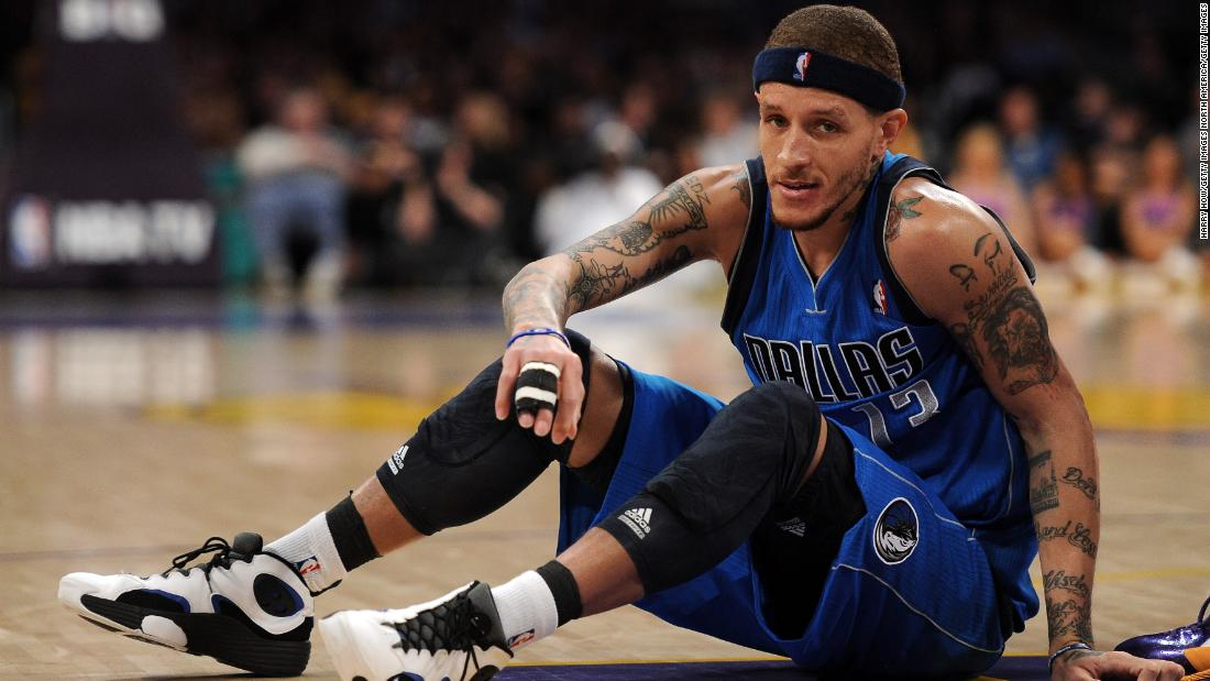 Delonte West played eight NBA seasons but his career was mired by controversy, suspensions and spells away from his teams. He was diagnosed with bipolar disorder midway through his career, according to the Washington Post, and began taking medication and undergoing therapy.
