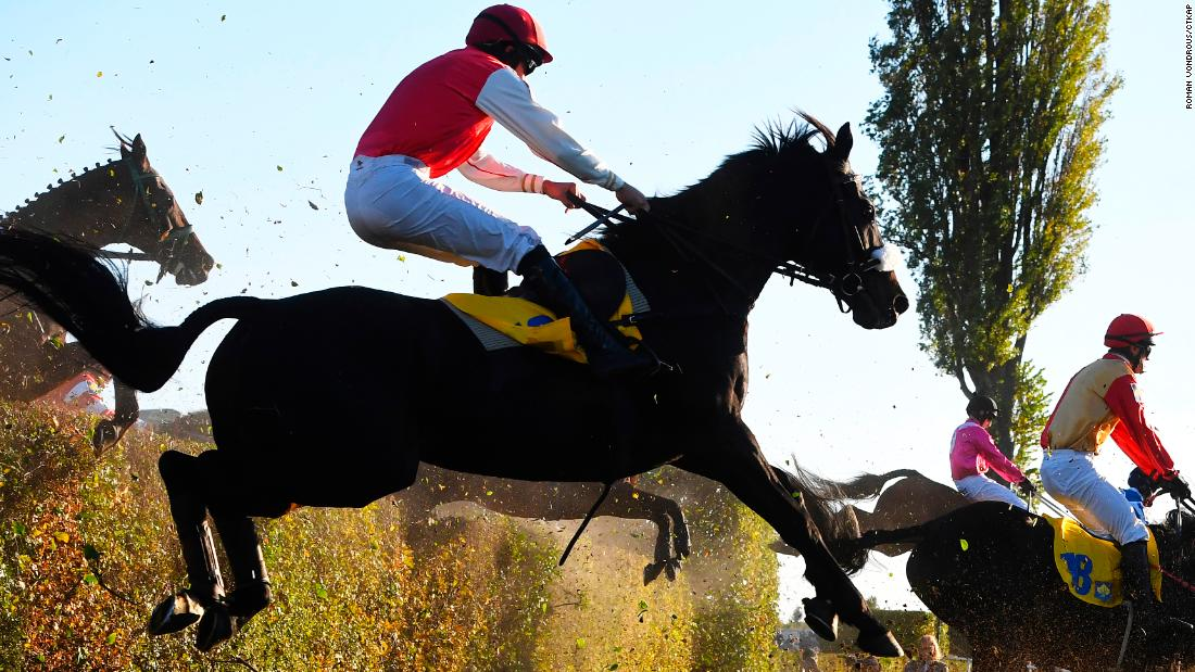 "According to Pardubice Race Course, when the race first began in the late 19th Century participation was low -- with only around five horses and riders involved. ""The horses were mainly foreign-bred, mainly English, German and Hungarian,"" it says on its website."
