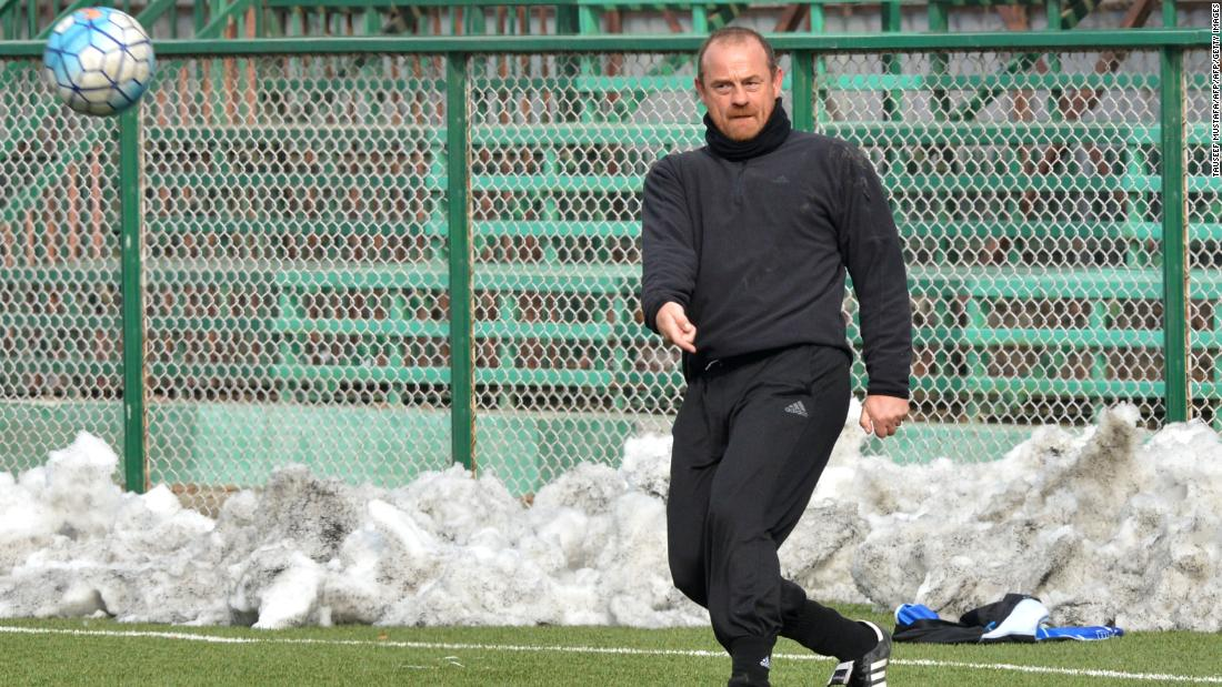 Manager David Robertson took over in 2017 and has been credited with transforming the club. The former professional footballer from Britain had never been to India before.