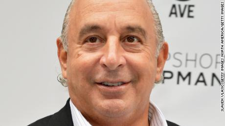 Philip Green attends the opening of Topshop Topman in New York City in 2014.
