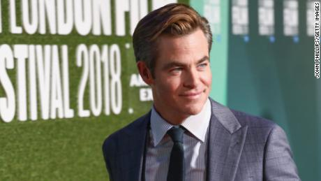 The news of Chris Pine's full frontal scene has sparked a Twitter storm.