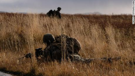 US Marines train in Iceland ahead of NATO's Trident Juncture exercise.