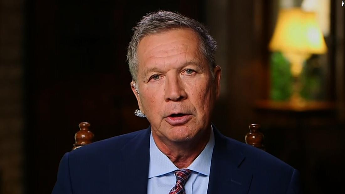 Kasich's message to Trump on possible 2020 primary challenge: 'Be careful what you wish for'
