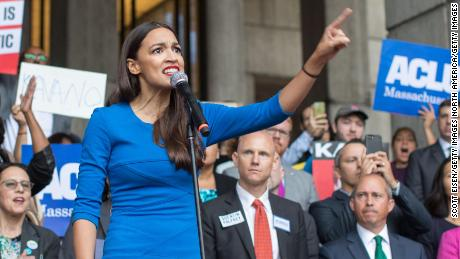 Rep. Alexandria Ocasio-Cortez embodies a new attitude among Democrats that Trump helped make possible.