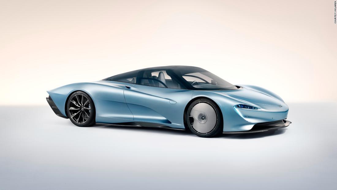 mclaren reveals $2.25 million three-seat hybrid supercar - cnn
