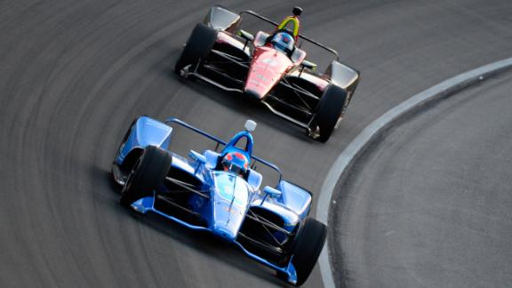 Wickens was involved in a violent crush at Pocono Raceway in Pennsylvania in August.