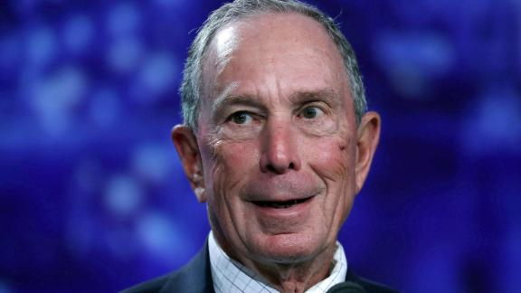 MIAMI BEACH, FL - JUNE 26:  Former New York City Mayor Michael Bloomberg addresses the United States Conference of Mayors at the Fountainebleau Hotel  on June 26, 2017 in Miami Beach, Florida. The mayors conference brought  mayors from across the country together to urge Americans to move past what they say is Washington