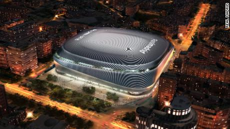 Real Madrid Planning The Best Stadium In The World With 600 Million Facelift Cnn